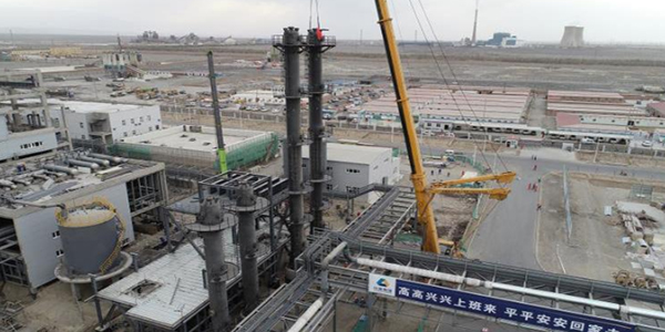 中国化学工程第十四建设阀门案例