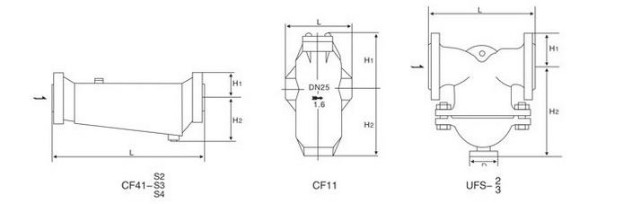 UFS汽水分离器结构图
