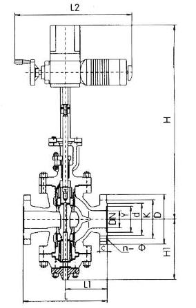 Y945H电动蒸汽减压阀结构图
